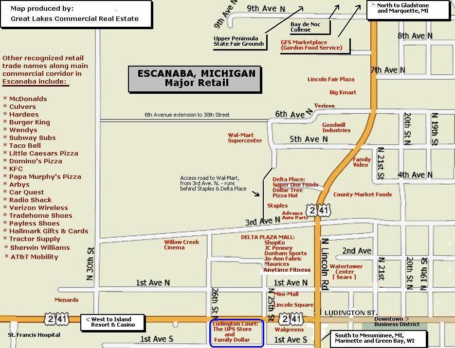 Riverside Auto Escanaba >> ADDITIONAL PROPERTY INFORMATION